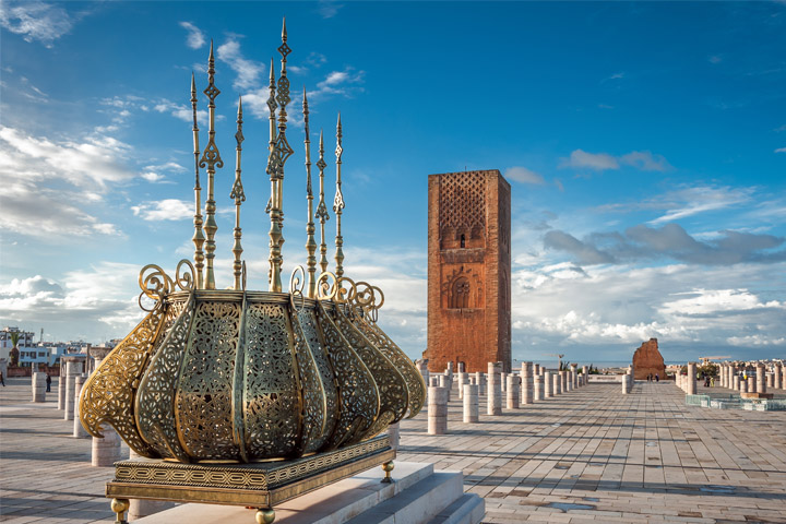 Rabat. The vintage jewel of the Kingdom of Morocco