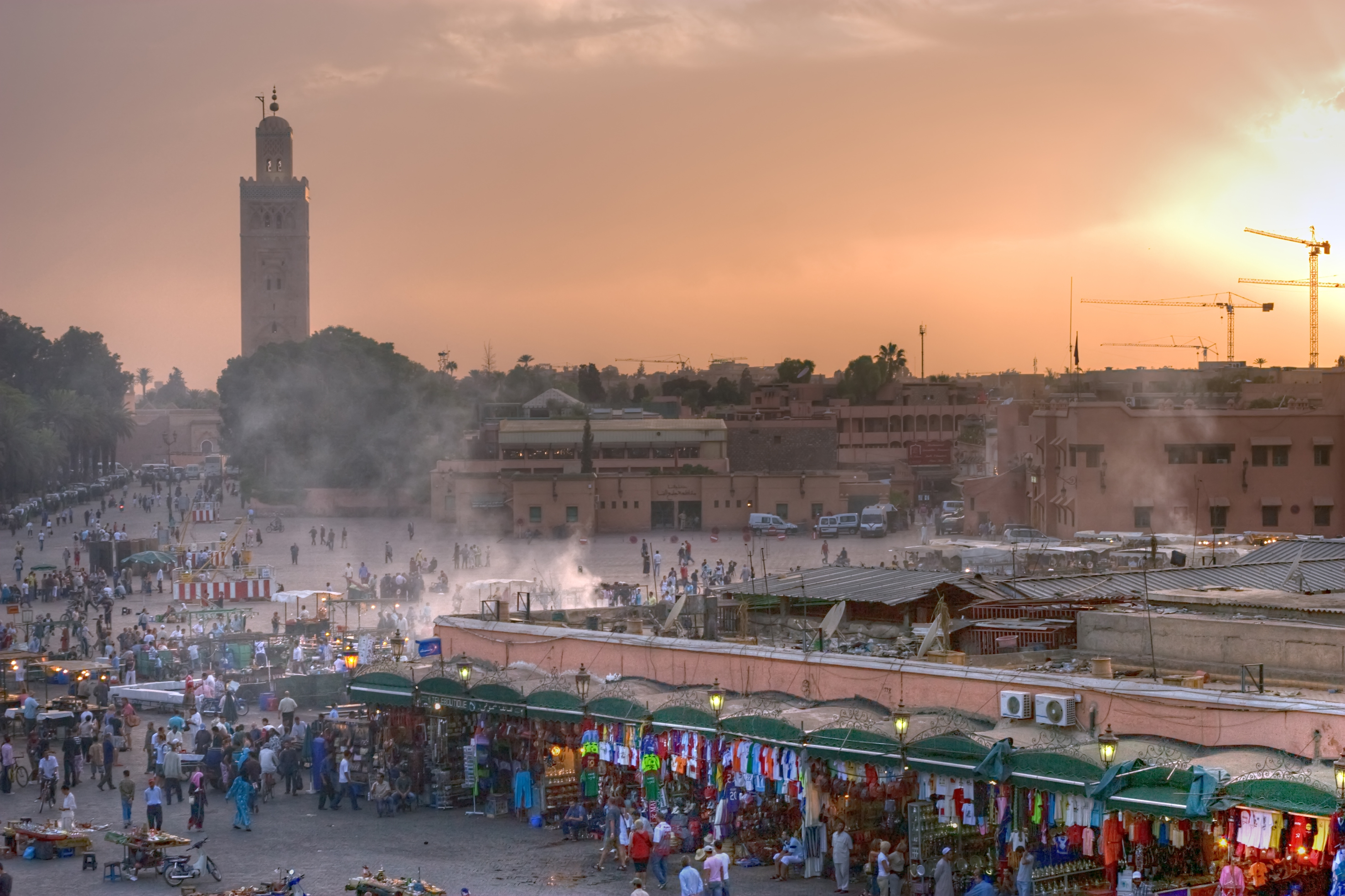 Jemaa el Fna square, the heart of the red city