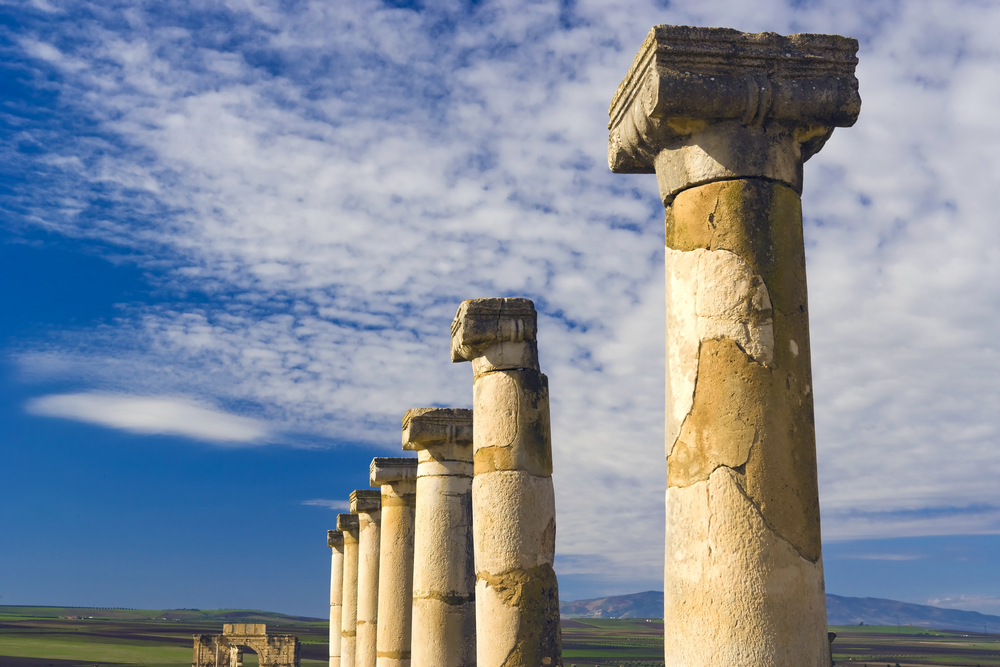 Volubilis: the Moroccan history at the foot of the Zerhun