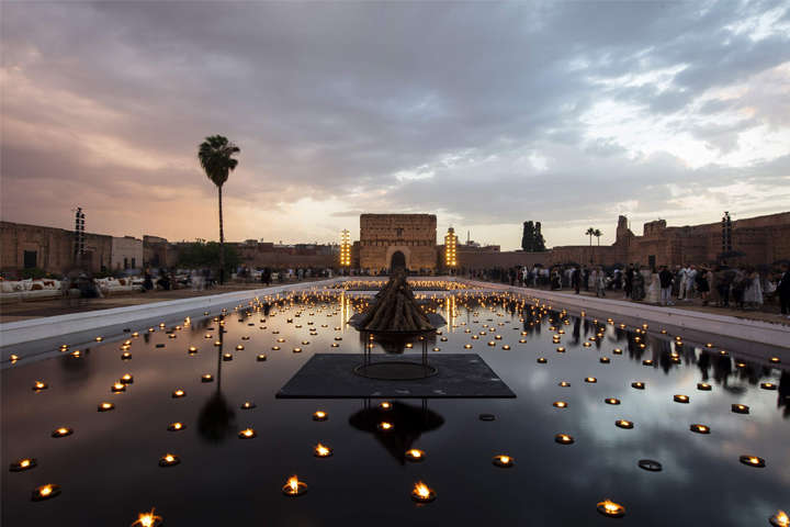 Dior Cruise 2020 Show in Marrakech